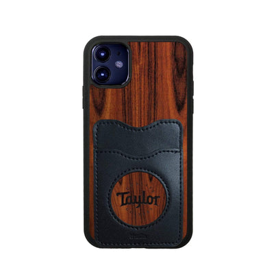 TaylorbyThalia Phone Case Santos Rosewood & Taylor Logo Inked | Wallet Phone Case iPhone 11