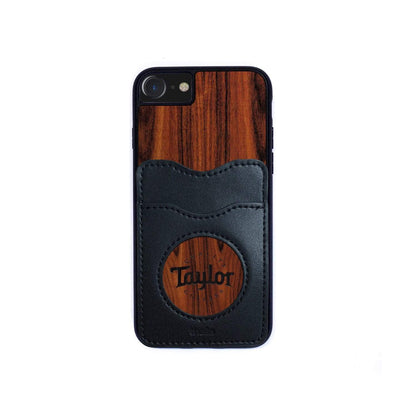 TaylorbyThalia Phone Case Santos Rosewood & Taylor Logo Inked | Wallet Phone Case iPhone 11 Pro Max