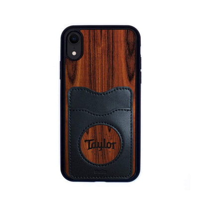 TaylorbyThalia Phone Case Santos Rosewood & Taylor Logo Inked | Wallet Phone Case iPhone XR