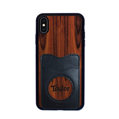 TaylorbyThalia Phone Case Santos Rosewood & Taylor Logo Inked | Wallet Phone Case iPhone XS Max