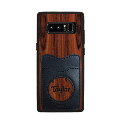 TaylorbyThalia Phone Case Santos Rosewood & Taylor Logo Inked | Wallet Phone Case Samsung Galaxy Note 8