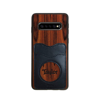 TaylorbyThalia Phone Case Santos Rosewood & Taylor Logo Inked | Wallet Phone Case Samsung Galaxy S10