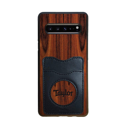 TaylorbyThalia Phone Case Santos Rosewood & Taylor Logo Inked | Wallet Phone Case Samsung Galaxy S10 5G