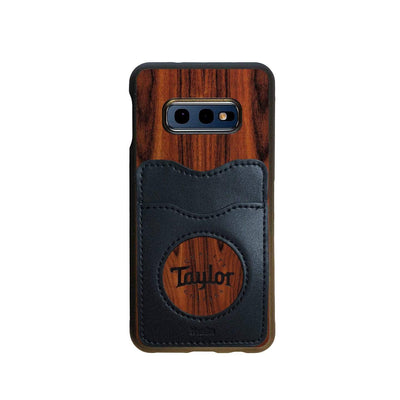 TaylorbyThalia Phone Case Santos Rosewood & Taylor Logo Inked | Wallet Phone Case Samsung Galaxy S10 E