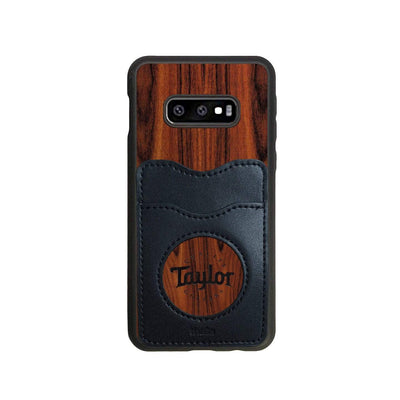 TaylorbyThalia Phone Case Santos Rosewood & Taylor Logo Inked | Wallet Phone Case Samsung Galaxy S10 Lite