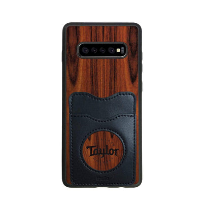 TaylorbyThalia Phone Case Santos Rosewood & Taylor Logo Inked | Wallet Phone Case Samsung Galaxy S10 Plus