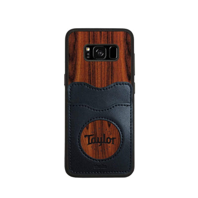 TaylorbyThalia Phone Case Santos Rosewood & Taylor Logo Inked | Wallet Phone Case Samsung Galaxy S8