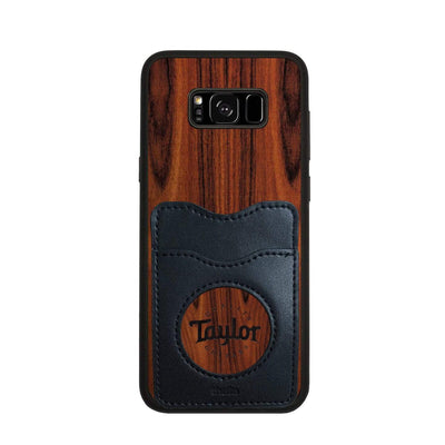 TaylorbyThalia Phone Case Santos Rosewood & Taylor Logo Inked | Wallet Phone Case Samsung Galaxy S8 Plus