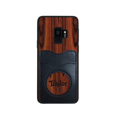 TaylorbyThalia Phone Case Santos Rosewood & Taylor Logo Inked | Wallet Phone Case Samsung Galaxy S9