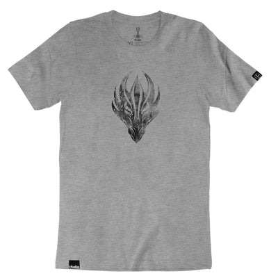 Thalia Apparel Dragonhead | Premium T-Shirt Heather Grey / S / Heavyweight Fitted (runs a size small)
