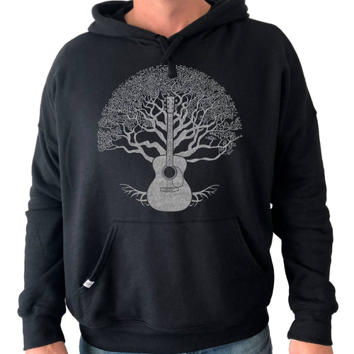Thalia Apparel Guitar Tree of Life | Premium Hoodie Black / S / Acoustic