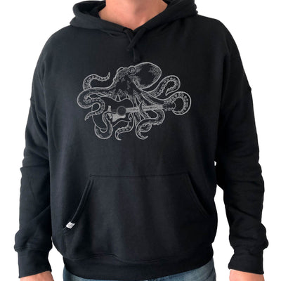 Thalia Apparel Octopus Plays GS Guitar | Premium Hoodie