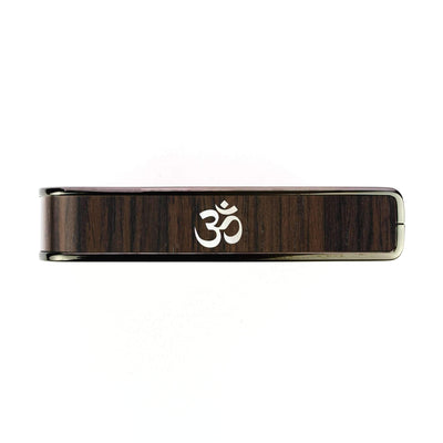 Thalia Capo Indian Rosewood & OM MOP | Capo Black Chrome / Bass (attach capo from top of neck)