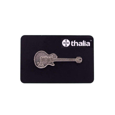 Thalia Capos Pin Les Paul Guitar Pin Nickel