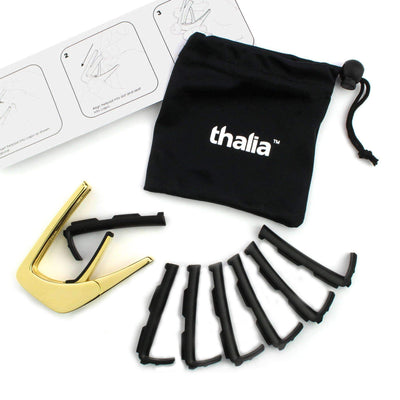 Thalia Custom Capo Black Ebony Inked | Custom Capo