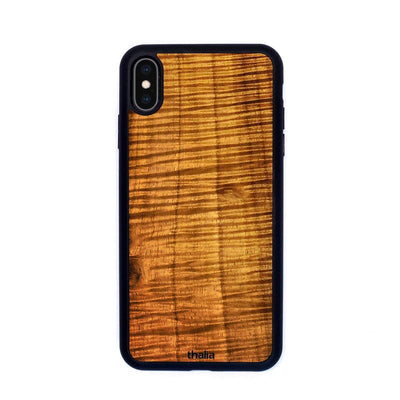 Thalia Phone Case iPhone 5 AAA Curly Hawaiian Koa | Phone Case iPhone 5/5S