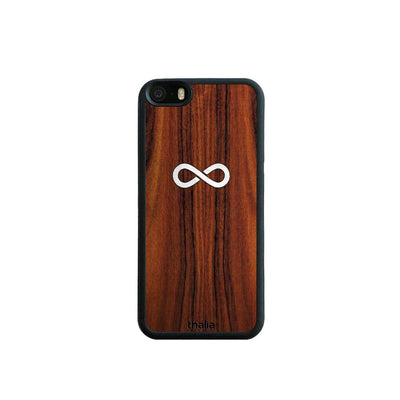 Thalia Phone Case iPhone 5 Santos Rosewood & Infinity MOP | Phone Case iPhone 5/5S