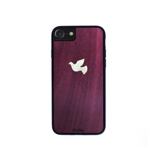 Thalia Phone Case Purpleheart & Dove MOP | Phone Case iPhone XS Max
