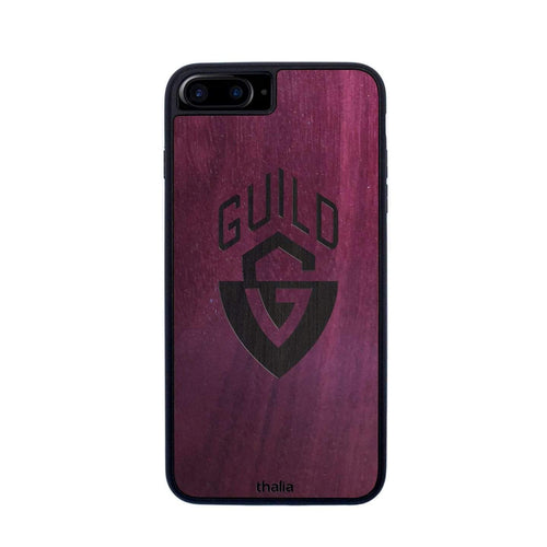 Thalia Phone Case Purpleheart & Guild G-Shield Inked Logo | Phone Case iPhone 6/7/8/SE
