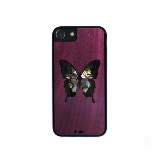 Thalia Phone Case Purpleheart & Mexican Greenheart Butterfly | Phone Case iPhone XS Max