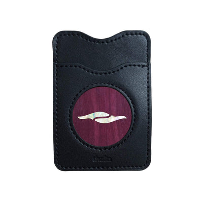 Thalia Phone Wallet Pearl Element | Leather Phone Wallet Purpleheart