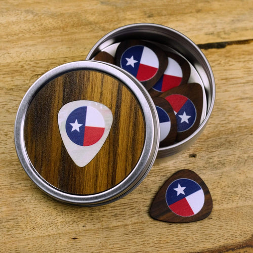 Thalia Picks Texas Lonestar | Rosewood 2.0 Pick Tin