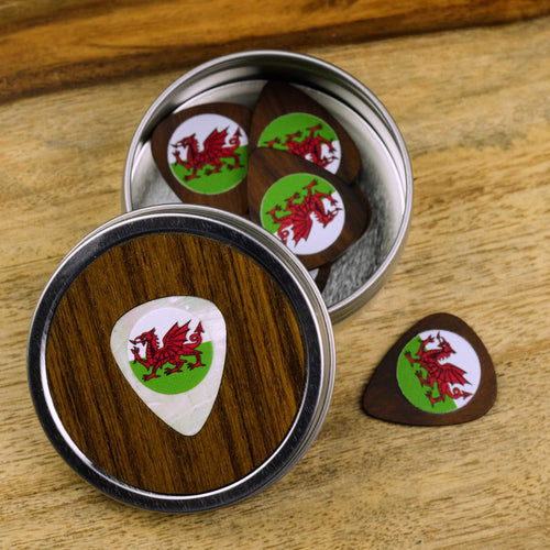Thalia Picks Wales | Rosewood 2.0 Pick Tin