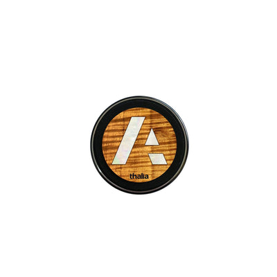 thalia Wireless Charger Anaplan Pearl A Logo | Fast Wireless Charger Curly Hawaiian Koa / Small (70mm)