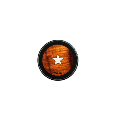 ThaliaCapos.com Wireless Charger Mother of Pearl Star | 70mm Fast Wireless Charger Acacia Hawaiian Koa