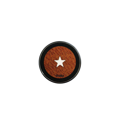 ThaliaCapos.com Wireless Charger Mother of Pearl Star | 70mm Fast Wireless Charger Brazilian Lacewood