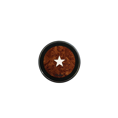 ThaliaCapos.com Wireless Charger Mother of Pearl Star | 70mm Fast Wireless Charger Maple Burl