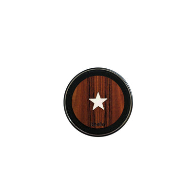 ThaliaCapos.com Wireless Charger Mother of Pearl Star | 70mm Fast Wireless Charger Santos Rosewood