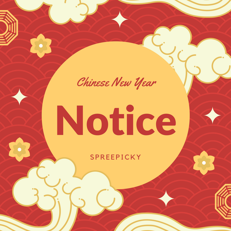 2017 Chinese New Year Holiday Notice