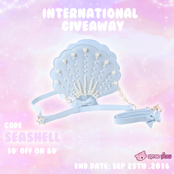 Pearl Seashell Bag Giveaway
