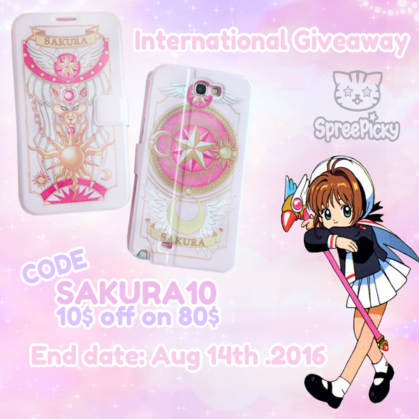 Card Captor Sakura Phone Cover Giveaway