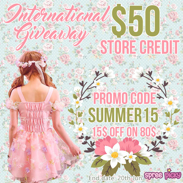 Spree Picky Summer 50$ Store Credit Giveaway