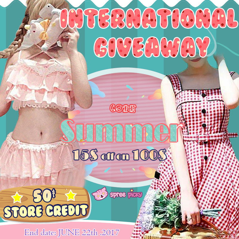 Spreepicky Summer 50$ Store Credit Giveaway