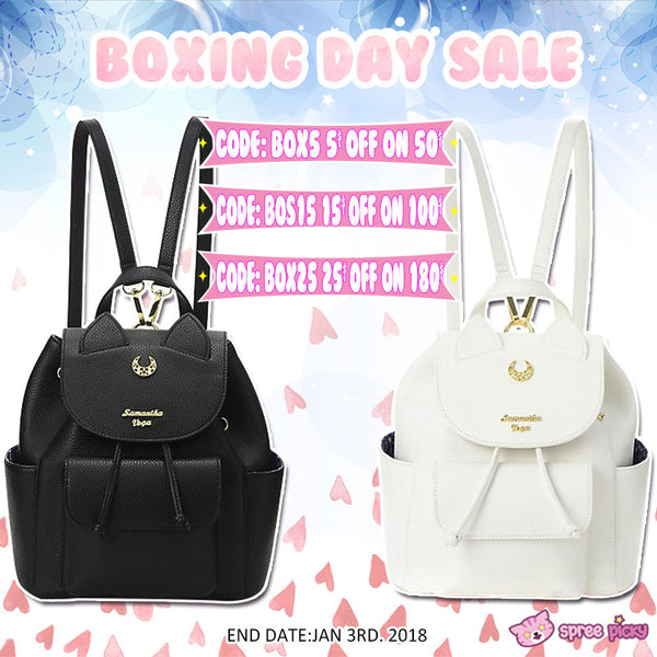 New Year Sale ! + Sailor Moon Backpack Giveaway