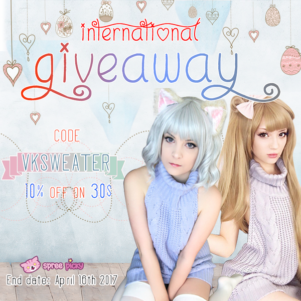 Happy Easter!Free Order Chance+Virgin Killer Sweater Giveaway
