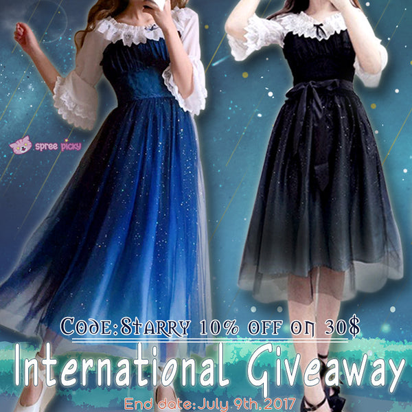 🌠Galaxy Starry Fairy Dress Giveaway🌠