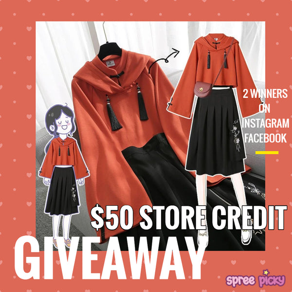 $50 Store Credit Giveaway on Feb 24- Mar 2, 2021