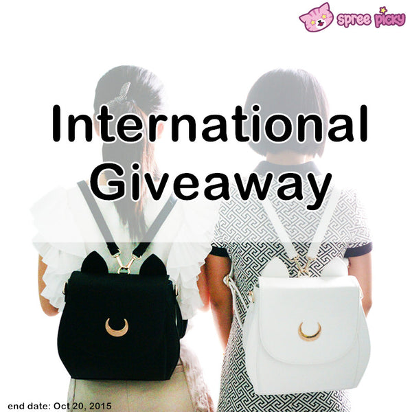 Spree Picky Luna Backpack Giveway