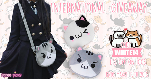 Spree Picky Neko Bag giveaway