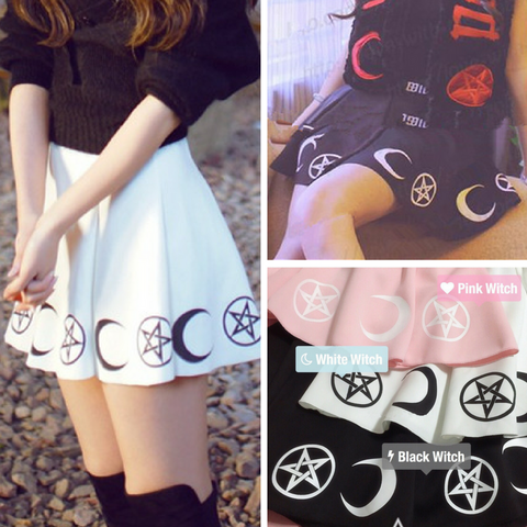 pretty witch skirt
