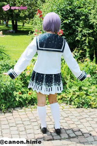 Piano and Stars Pleated Skirt Only with Pocket SP130211 - SpreePicky  - 7