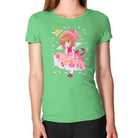 Wonderful Sakura Woman Tee Shirt - SpreePicky  - 6