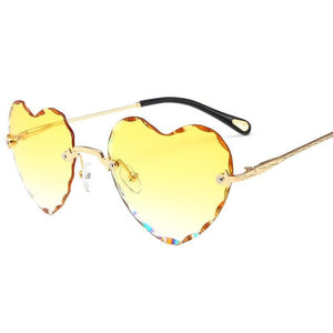 8 Colors Gradient Heart Sun Glasses SP14933