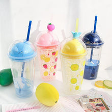 Load image into Gallery viewer, Kawaii Fruit Ice Fruit Water Bottle SP14070