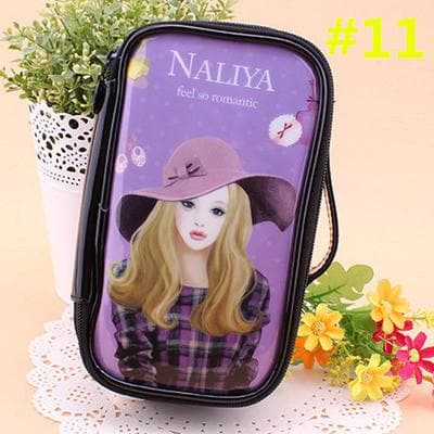 24 Patterns Cutie Girl Cartoon Cosmetic Storage Bag SP153063 - SpreePicky  - 14