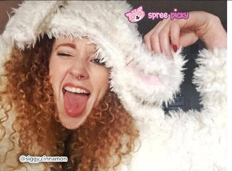 Kawaii Rabbit Long Ears Fluffy Coat High Quality -COAT only SP130089 - SpreePicky  - 8